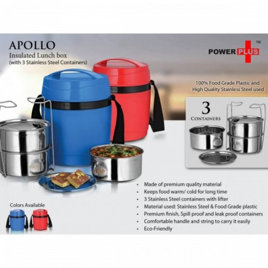 Apollo Insulated Lunch Box